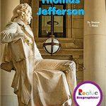 <i>Thomas Jefferson (Rookie Biographies) <br> </i> by Simone T. Ribke